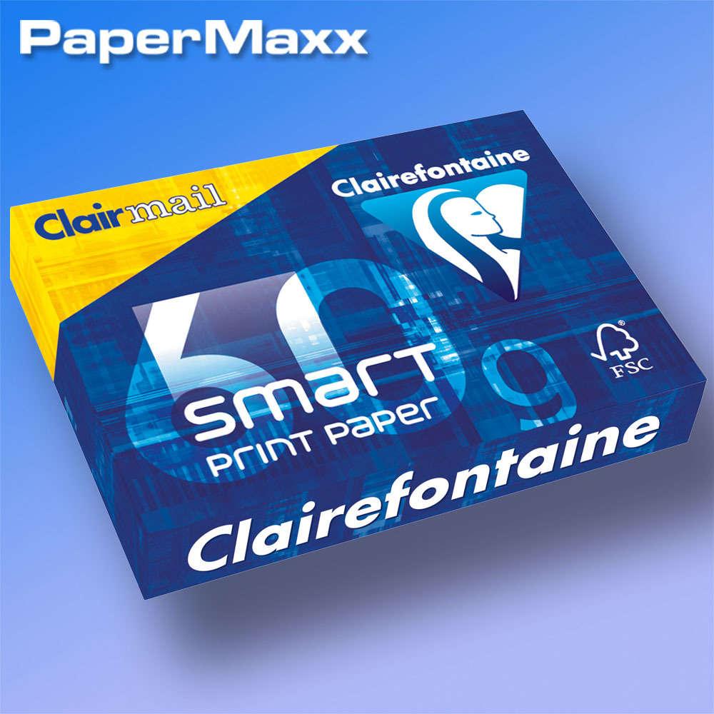 Clairefontaine 1929C 2500 Blatt Smart print Druckerpapier DIN A4 60g 170er weiße
