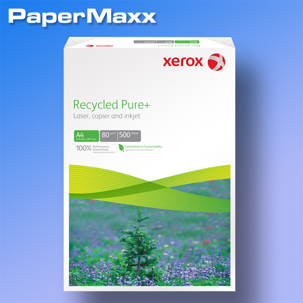 xerox recycled pure kopierpapier iso 100 a4 80g papermaxx. Black Bedroom Furniture Sets. Home Design Ideas
