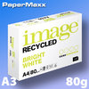 Image Recyled Bright White Recycling-Papier, ISO 106 A3 80g FSC