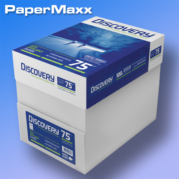 discovery kopierpapier a3 75g ab 5 99 pack. Black Bedroom Furniture Sets. Home Design Ideas